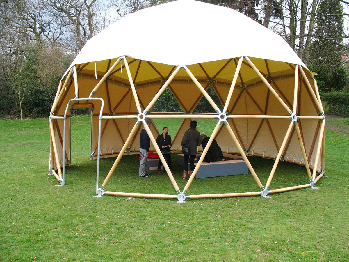 Bamboo aluminium structures alan white design Home design and structure