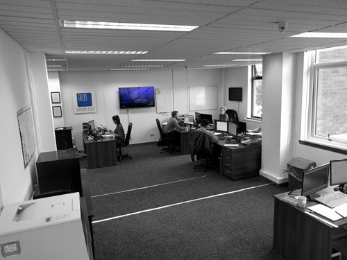 Office Black And White